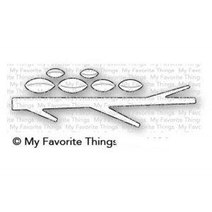 My Favorite Things Tree Branch Die-namics