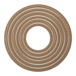Spellbinders Hemstitch Circles Die Set class=