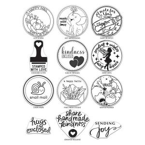The Stamping Village Collaborative Stamp Set