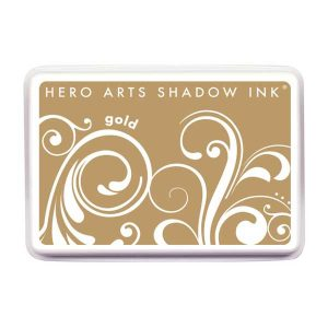 Hero Arts Gold Shadow Ink Pad class=