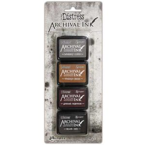 Tim Holtz Distress Archival Mini Ink Kit #3
