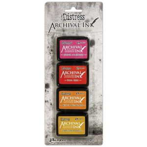 Tim Holtz Distress Archival Mini Ink Kit #1 class=
