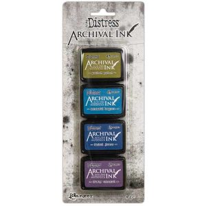 Tim Holtz Distress Archival Mini Ink Kit #2