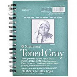 Strathmore Toned Sketch Paper Pad - Gray