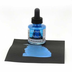 Dr. Ph. Martin's Iridescent Calligraphy Color – Sequins Blue class=