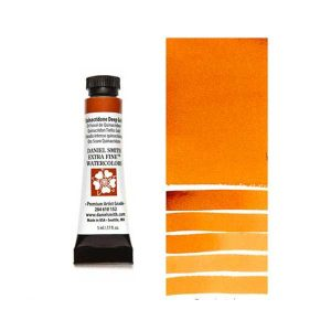 Daniel Smith 5ml Extra Fine Watercolor – Quinacridone Deep Gold