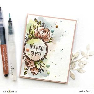 Altenew Book Club Stamp Set class=