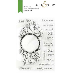 Altenew Book Club Stamp Set