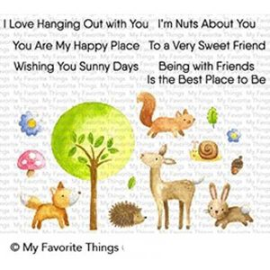 My Favorite Things Sweet Spring Friends Stamp Set