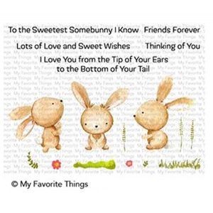 My Favorite Things Sweetest Somebunny Stamp Set
