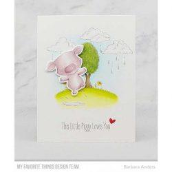 My Favorite Things Piggy Pebbles Die-namics