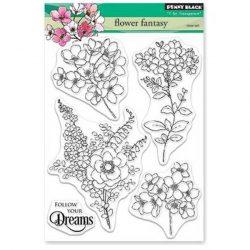 Penny Black Flower Fantasy Stamp Set