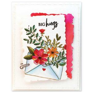 Penny Black Bunches For You Stamp class=