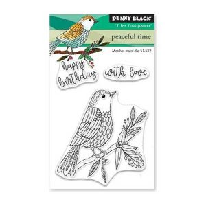 Penny Black Peaceful Time Stamp Set