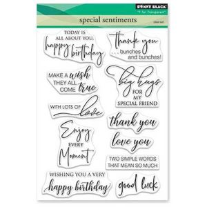 Penny Black Special Sentiments Stamp Set
