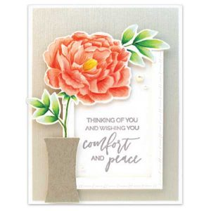 Penny Black Sympathy Sentiments Stamp Set class=