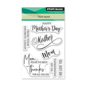 Penny Black Best Mom Stamp Set