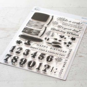 Pinkfresh Studio Make A Wish Stamp Set