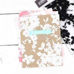 The Stamp Market Floral Background Stamp