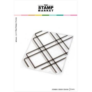 The Stamp Market Jumbo Criss Cross Stamp Set