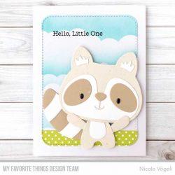 My Favorite Things Raccoon Cutie Die-namics