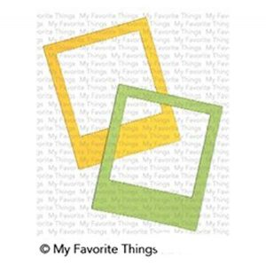 My Favorite Things Polaroid Shaker Frame Die-namics