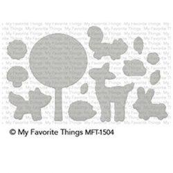 My Favorite Things Sweet Spring Friends Die-namics