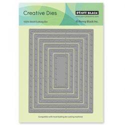 Penny Black Stitched Nested Frames Creative Dies