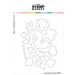 The Stamp Market Bloominous Die Set