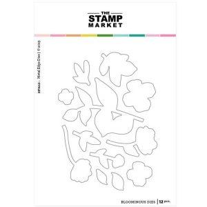 The Stamp Market Bloominous Die Set