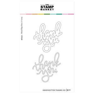897df31597d5 The Stamp Market Handwritten Thanks Dies