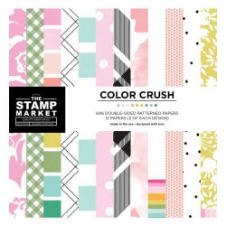 The Stamp Market Color Crush Paper - 6 x 6