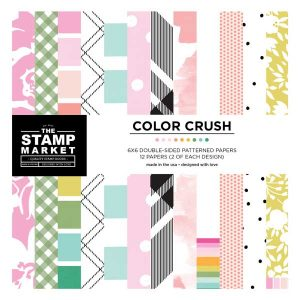 The Stamp Market Color Crush Paper – 6 x 6