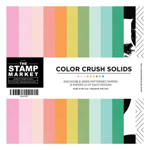 The Stamp Market Color Crush Solids - 6 x 6