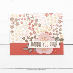 Concord & 9th Flower Patch Turnabout Stamp Set