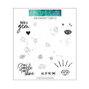 Concord & 9th Gem Turnabout Stamp Set