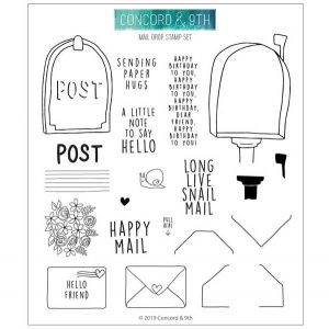 Concord & 9th Mail Drop Stamp Set