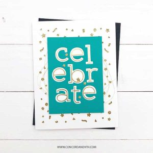 Concord & 9th Simple Serif Alphabet Stamp Set class=