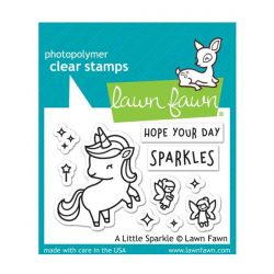Lawn Fawn A Little Sparkle Stamp Set