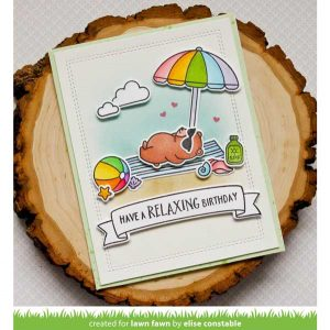 Lawn Fawn On the Beach Stamp Set class=