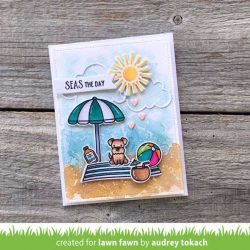 Lawn Fawn On the Beach Stamp Set