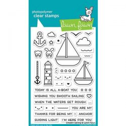 Lawn Fawn Smooth Sailing Stamp Set