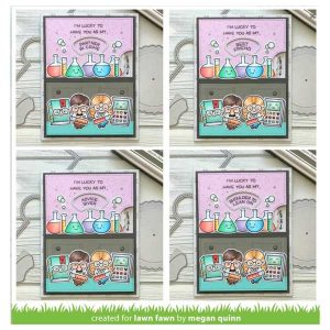 Lawn Fawn Reveal Wheel Friends & Family Sentiments Stamp Set class=