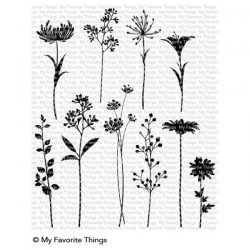 My Favorite Things Flower Silhouettes Stamp Set