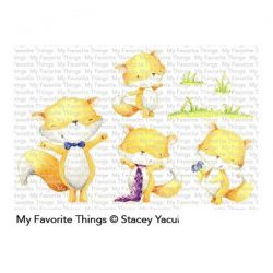 My Favorite Things Friendly Foxes Stamp Set