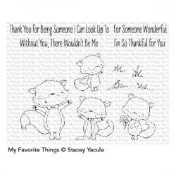 My Favorite Things SY Friendly Foxes Stamp Set