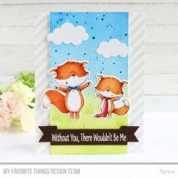 My Favorite Things Friendly Foxes Die-namics