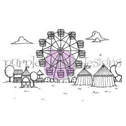 Purple Onion Designs Fairgrounds Background