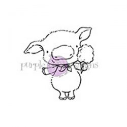 Purple Onion Designs Pinky Pig