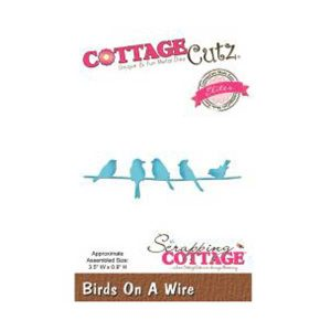 Cottage Cutz Birds on a Wire Die class=